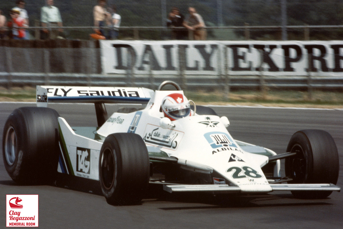 SILVERSTONE 1979 - L'ultima vittoria di Clay - La prima della Williams